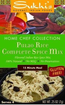 Sukhi's Gourmet Indian Foods, Pulao Rice Spice Mix, 0.25 oz, 12 pk