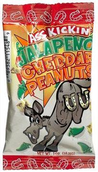 Ass Kickin' Jalapeno Cheddar Peanuts, 1 oz Bags, 24 pk
