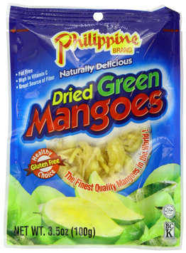 Philippine Brand Dried Green Mangoes, 3.53 oz, 25 pk