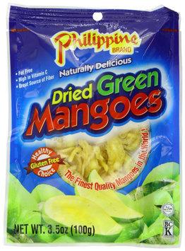 Philippine Brand Dried Green Mangoes, 3.53 oz, 25 pk