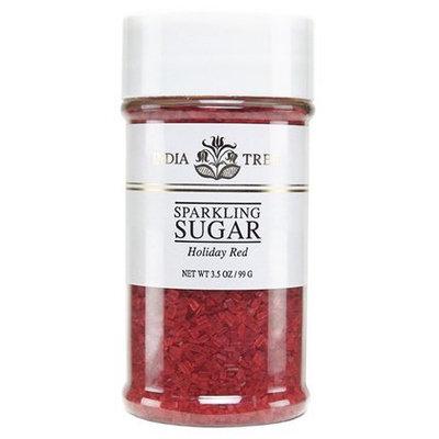 India Tree Sugar, Holiday Red, 3.5 oz, 4 pk