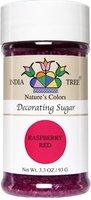 India Tree Sugar Decorating, Raspberry Red, 3.3 oz, 3 pk