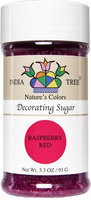 India Tree Sugar Decorating, Raspberry Red, 3.3 oz, 3 pk