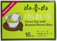 Yama Moto Yama Genmai-cha Green Tea with Roasted Brown Rice, 1.69 oz, 12 pk