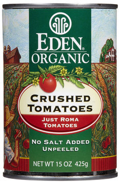 EDEN FOODS Organic Crushed Tomatoes 15 OZ