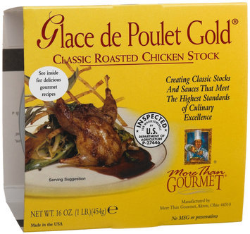 More Than Gourmet Glace De Poulet Gold, Roasted Chicken Stock