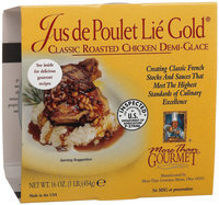 More Than Gourmet Jus De Poulet Lie Gold, Roasted Chicken Demi-Glace