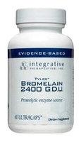 Integrative Therapeutics Bromelain 2400 G.D.U, 60 UltraCaps