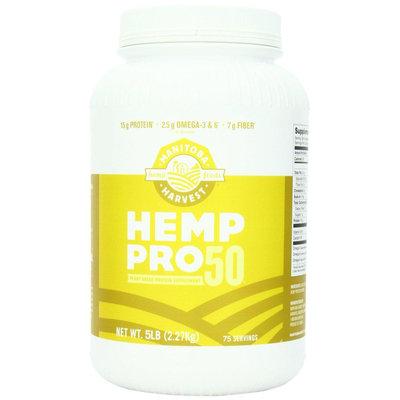 Manitoba Harvest Hemp Pro 50 Whole Food 50% Protein Powder, 5 lb Tub