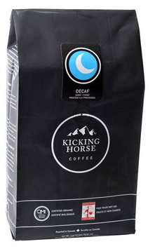 Kicking Horse Coffee Decaf Dark, Whole Bean Coffee, 2.2 lb Pouch