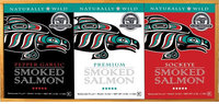 Alaska Smokehouse Smoked Salmon/Pepper Garlic/Sockeye Gift Set