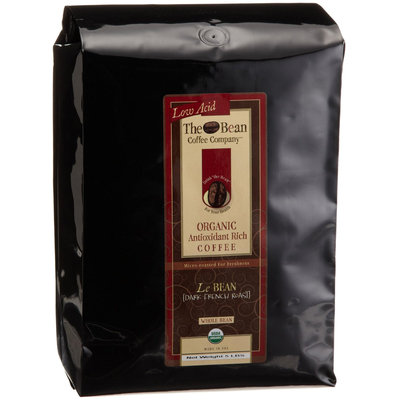 The Bean Coffee Company Dark French Roast, Org Whole Bean Coffee, 5lb Bags
