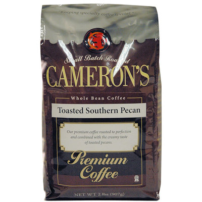 Cameron's Camerons Toasted Southern Pecan Whole Bean Coffee, 32 oz Bag