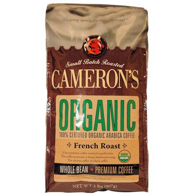 Cameron's Camerons Organic French Roast Whole Bean Coffee, 32 oz Bag