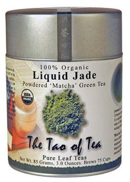 The Tao of Tea Liquid Jade Powdered Matcha Green Tea, Loose Leaf, 3 oz Tin