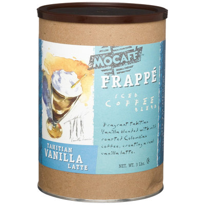 Innovative Beverage Coffee 3 Pound Can Of Mocafe Tahitian Vanilla