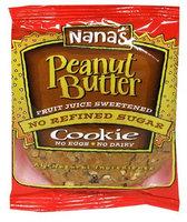 's Cookies NanaS Cookies Peanut Butter Cookie 3.5 Oz -Pack of 12