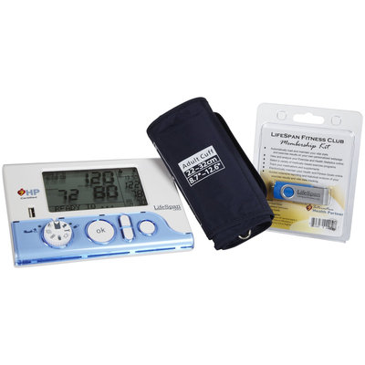 LifeSpan Fitness Blood Pressure Monitor with USB