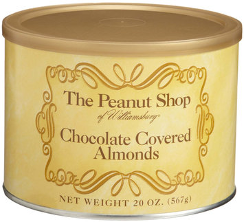 The Peanut Shop of Williamsburg Chocolate Covered Almonds