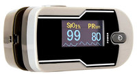 AccuRate Deluxe Finger Pulse Oximeter with Custom Soft Skin Cover