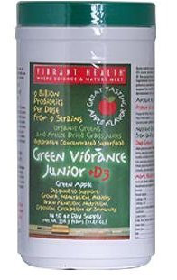 Vibrant Health Green Vibrance Junior for Toddlers & Tweens Apple-Licious