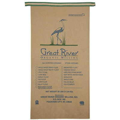 Great River Organic Milling Specialty Flour, 400 oz