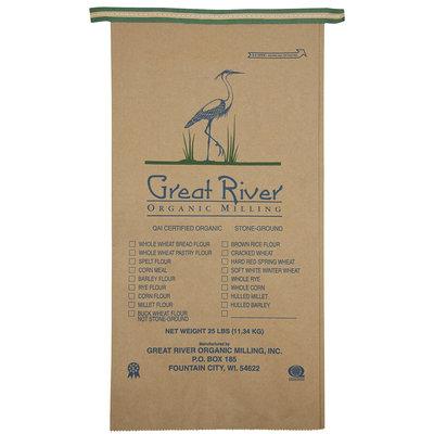 Great River Organic Milling Organic Whole Wheat Bread Flour, 400 oz