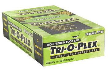 Tri-O-Plex High Protein Food Bar, Caramel Apple, 12 Count, 4.2 Ounce Bar