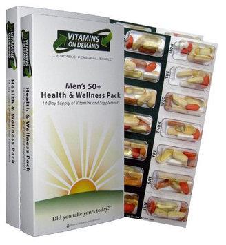 Vitamins On Demand Men's 50+ Health and Wellness Vitamin Pack