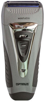 Optimus Wet / Dry Triple Blade Electric Shaver with Trimmer