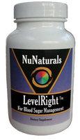 Nunaturals NuNaturals Level Right, For Blood Sugar Management, 90 Capsules