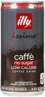 illy Caffe Coffee Drink, No Sugar, 6.8 oz Cans, 12 ct