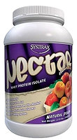 Syntrax - Nectar Naturals Whey Protein Isolate Natural Fruit Punch - 2.17 lbs.