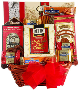 Wine.com Gift Basket: Say It With Chocolate