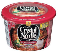 Crystal Noodle Spicy Sesame Paste, 2.47 oz Cardboard Cup, 6 ct
