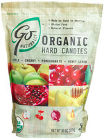 GoNaturally Organic Assorted Gluten Free Hard Candies, 30 oz