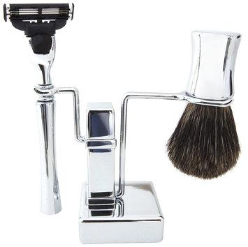 Colonel Ichabod Conk Chrome 3 Piece Shave Set - 13