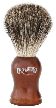 Colonel Conk Model # 903 Mixed Badger Brush-rosewood Handle