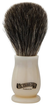 Colonel Conk Model # 908 Mixed Badger Brush with faux Ivory Handle