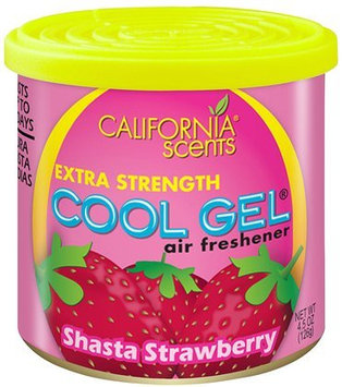 California Scents Cool Gel, (Pack of 8), Shasta Strawberry - 8 pk.