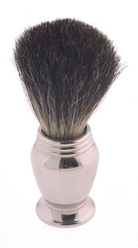 Colonel Conk Progress Model 247 Pure Badger Shaving Brush with Chrome Handle
