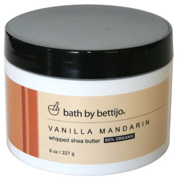 Bath by Bettijo Whipped Shea Butter, Vanilla Mandarin
