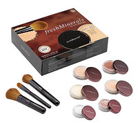 Freshminerals Mineral Powder Foundation Starter Kit with SPF 20