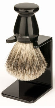 Edwin Jagger 3ej946lds Handmade Imitation Ebony Shaving Brush with.