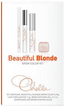 Chella Brow Color Kit - Brown
