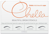 Chella Beautiful Brow Stencils