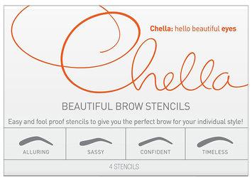 Chella Beautiful Brow Stencils