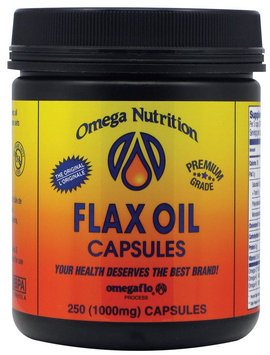 Omega Nutrition Flax Seed Oil caps, 250 ct