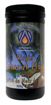 Omega Nutrition Virgin Coconut Flour, 17.5 oz