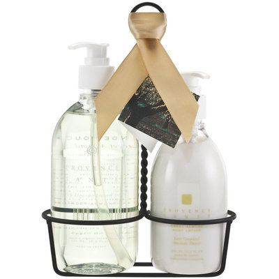 Provence Sante Kitchen Caddy Liquid Soap & Lotion, Swt Almond